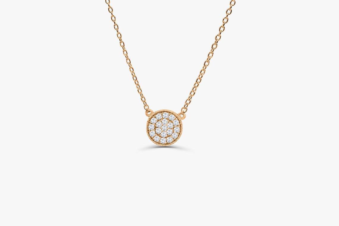 Diamant Kette LAYLA I 585er Gold 0,12 Karat