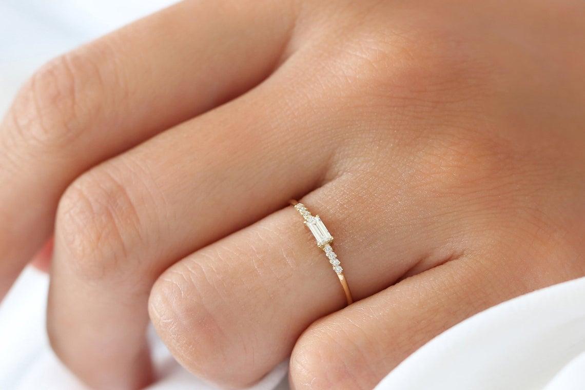 Diamant Ring KAREN I 585er Gold 0,25 Karat