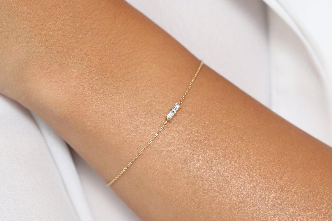 Diamant Armband BEATRICE I 585er Gold 0,12 Karat