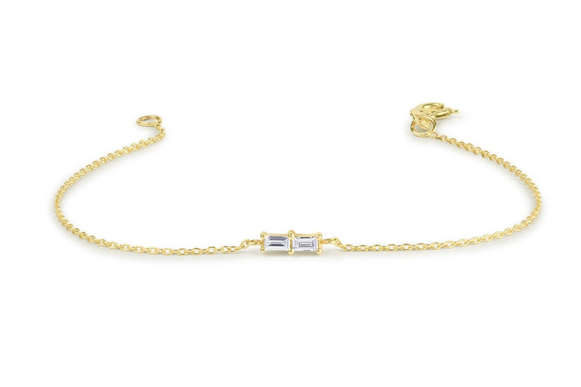 Diamant Armband BEATRICE I 585er Weißgold 0,12 Karat