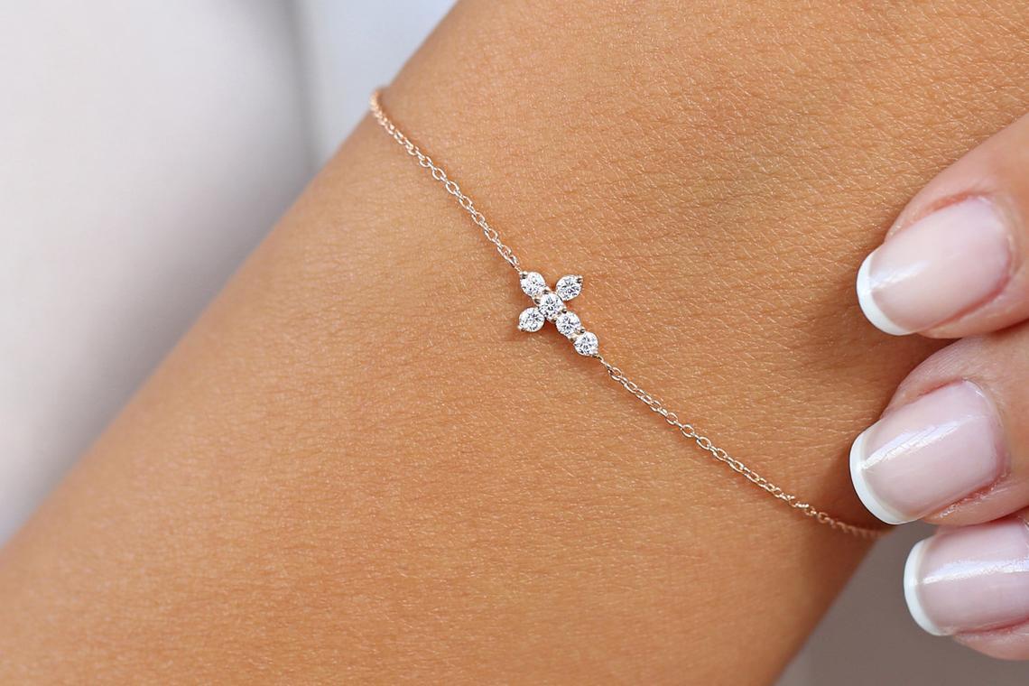Diamant Armband AURORA I 585er Gold 0,21 Karat