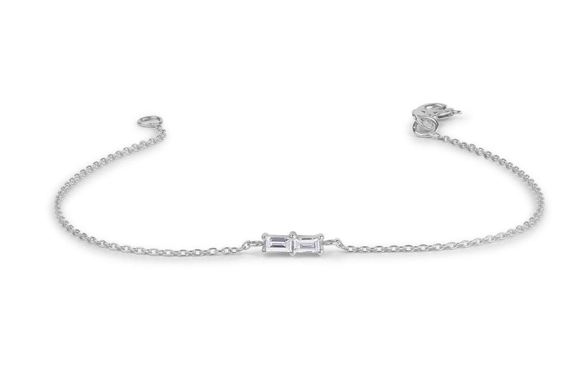 Diamant Armband BEATRICE I 585er RoseGold 0,12 Karat