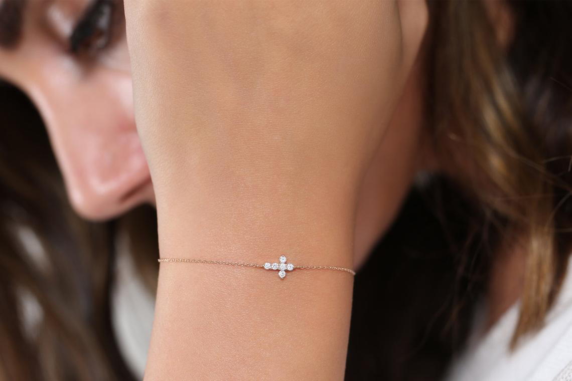 Diamant Armband AURORA I 585er RoseGold 0,21 Karat