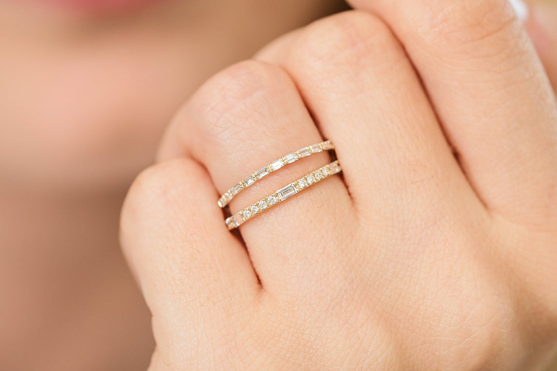 Diamant Ring LORI I 585er Weißgold 0,15 Karat