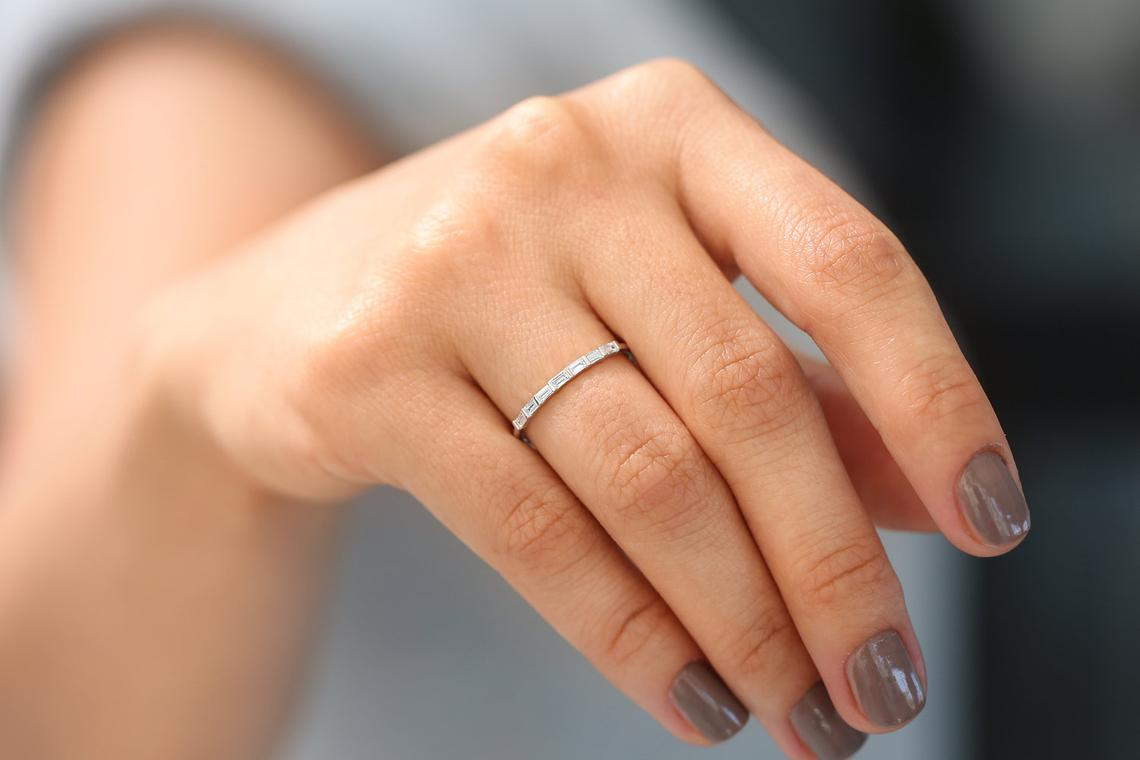 Diamant Ring PATRICIA I 585er Weißgold 0,27 Karat