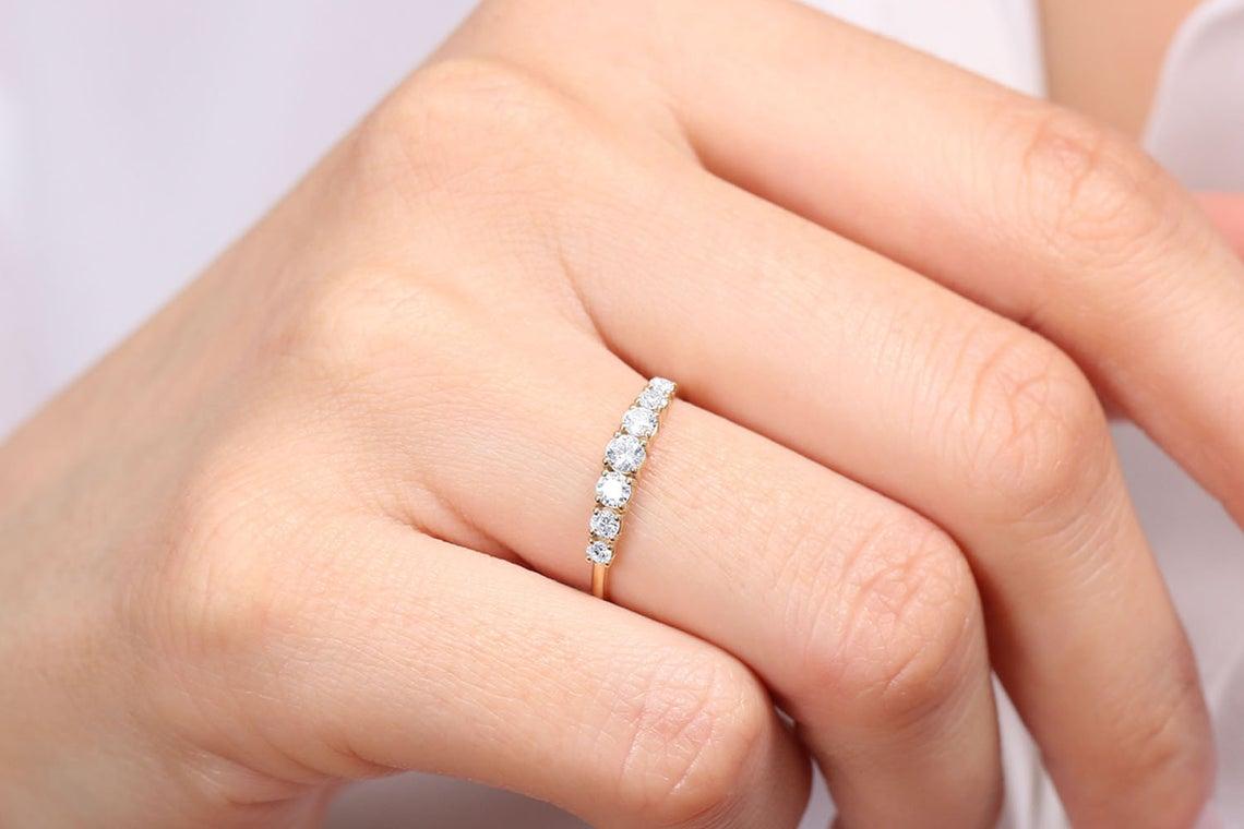 Diamant Ring SOPHIA I 585er Roségold 0,45 Karat