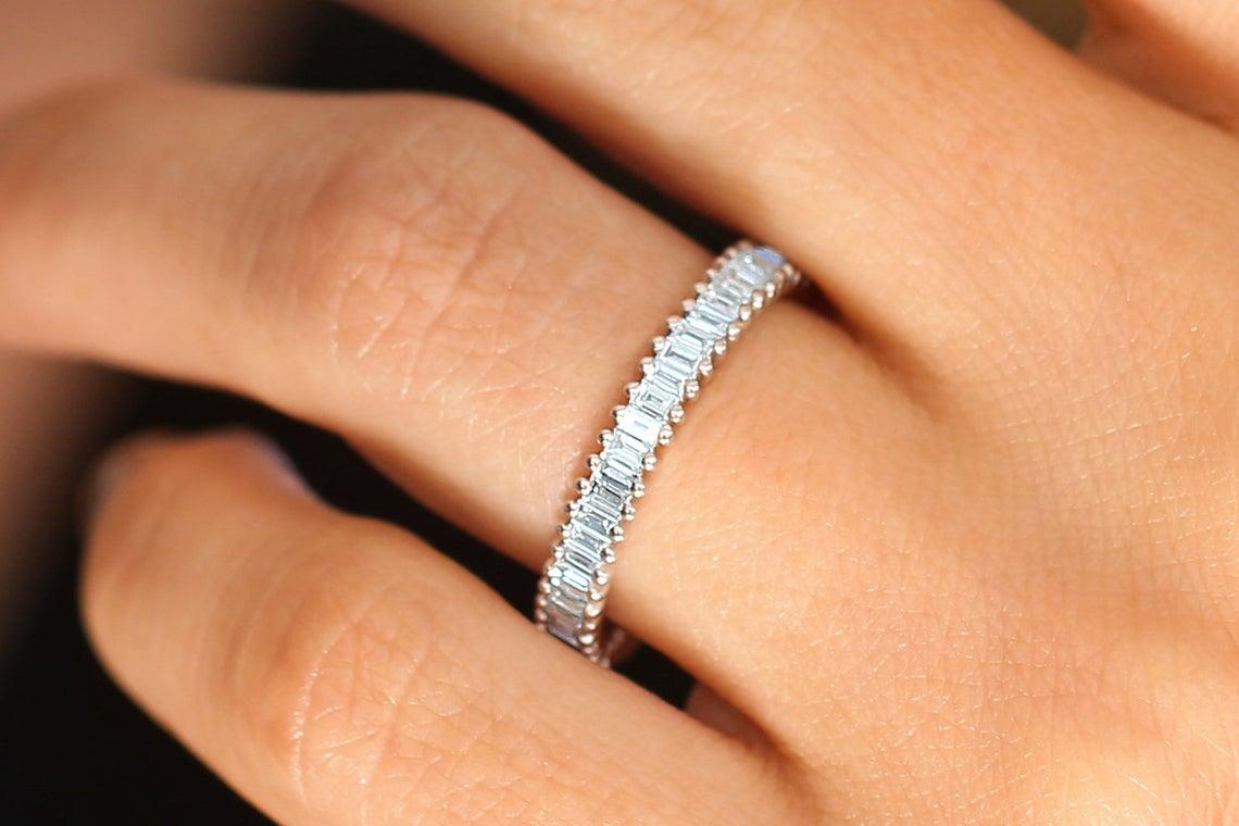 Diamant Ring ZOE I 585er Weißgold 1,35 Karat