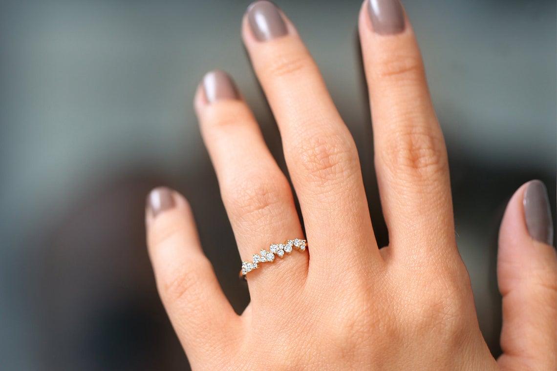 Diamant Ring LARA I 585er Roségold 0,39 Karat