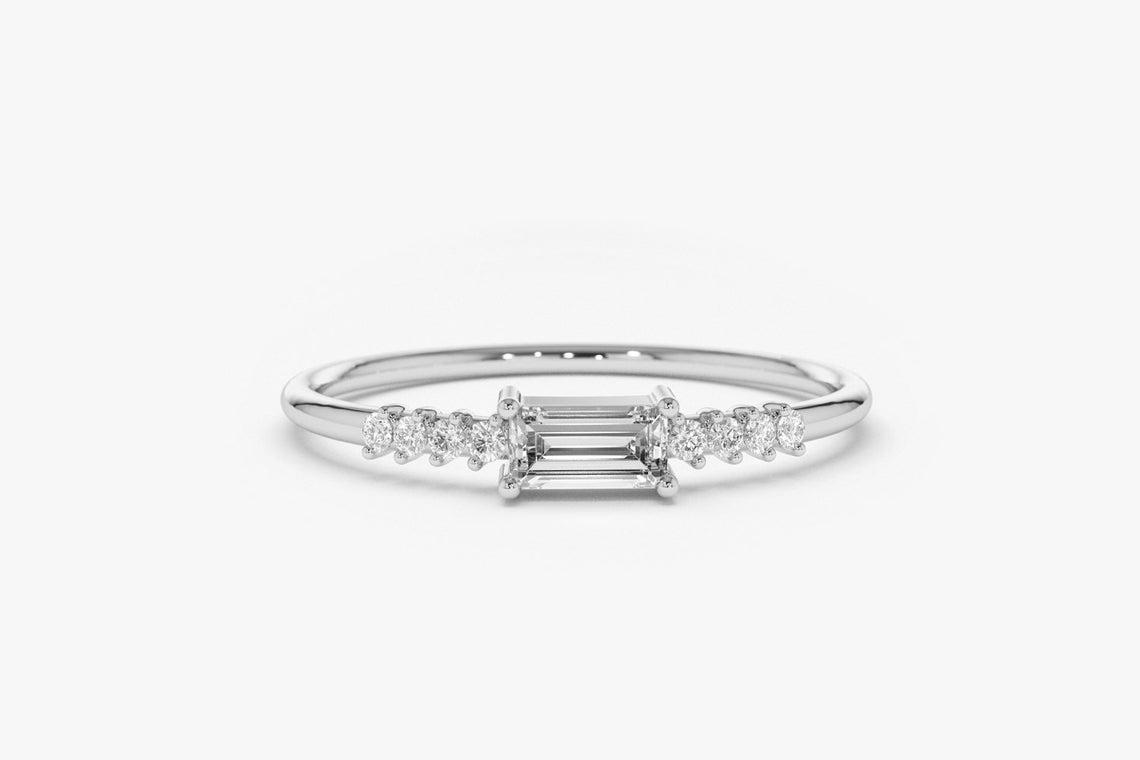 Diamant Ring KAREN I 585er Roségold 0,25 Karat