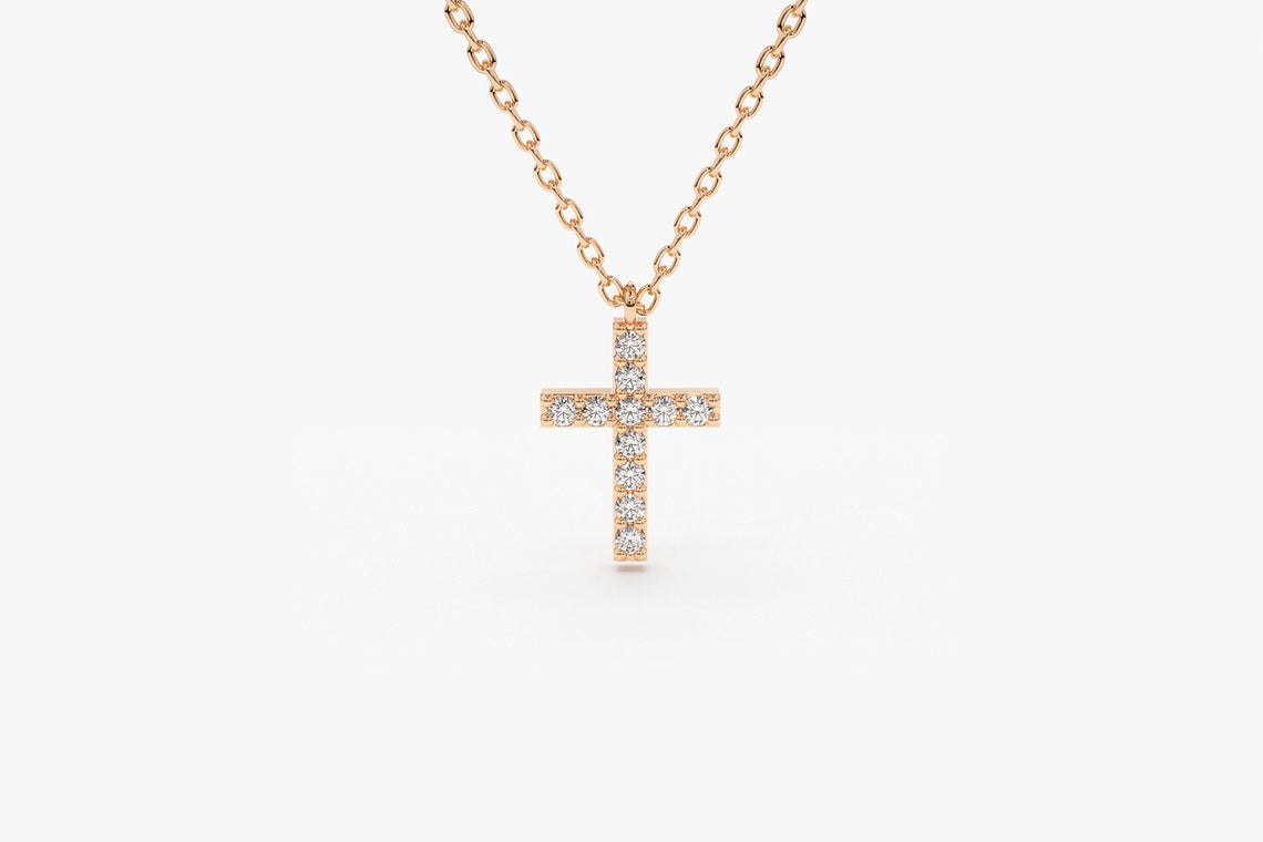 Diamant Kette MARIA I 585er Roségold 0,11 Karat