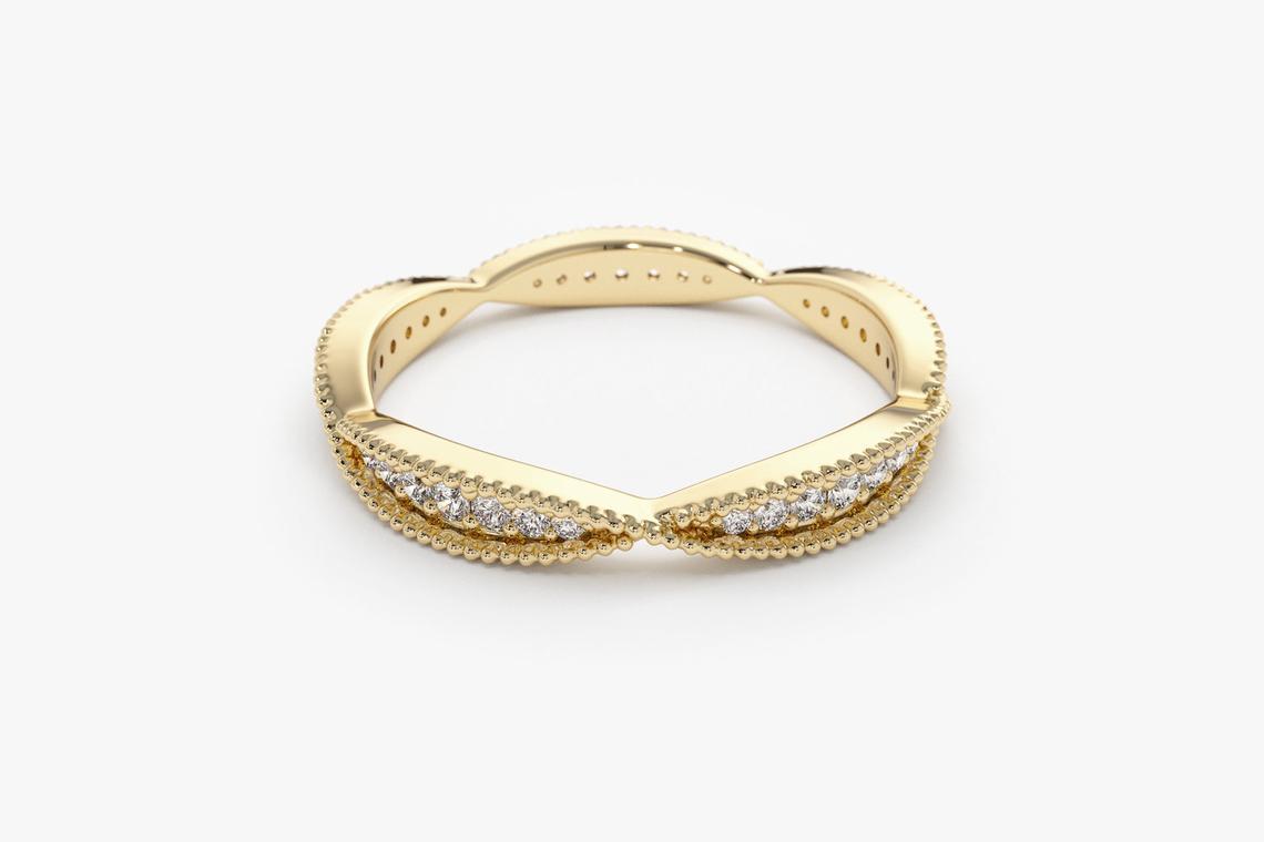 Diamant Ring IVY I 585er Weißgold 0,57 Karat