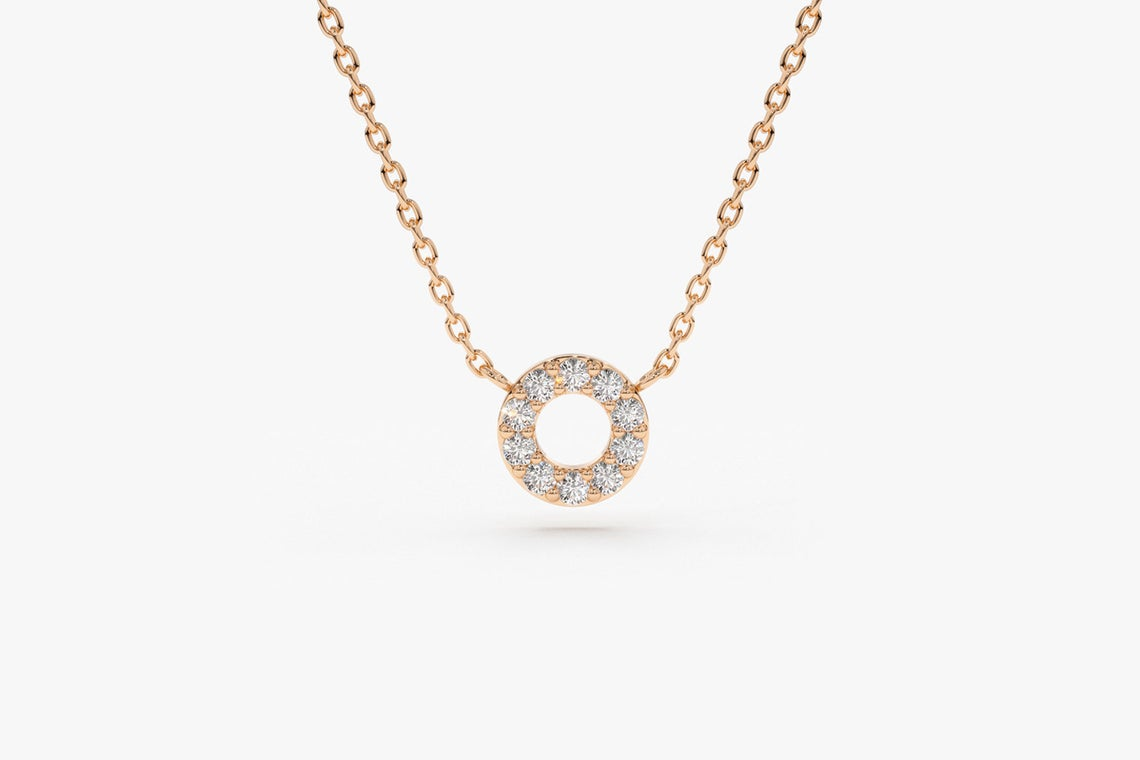 Diamant Kette Kayla I 585er Gold 0,12 Karat