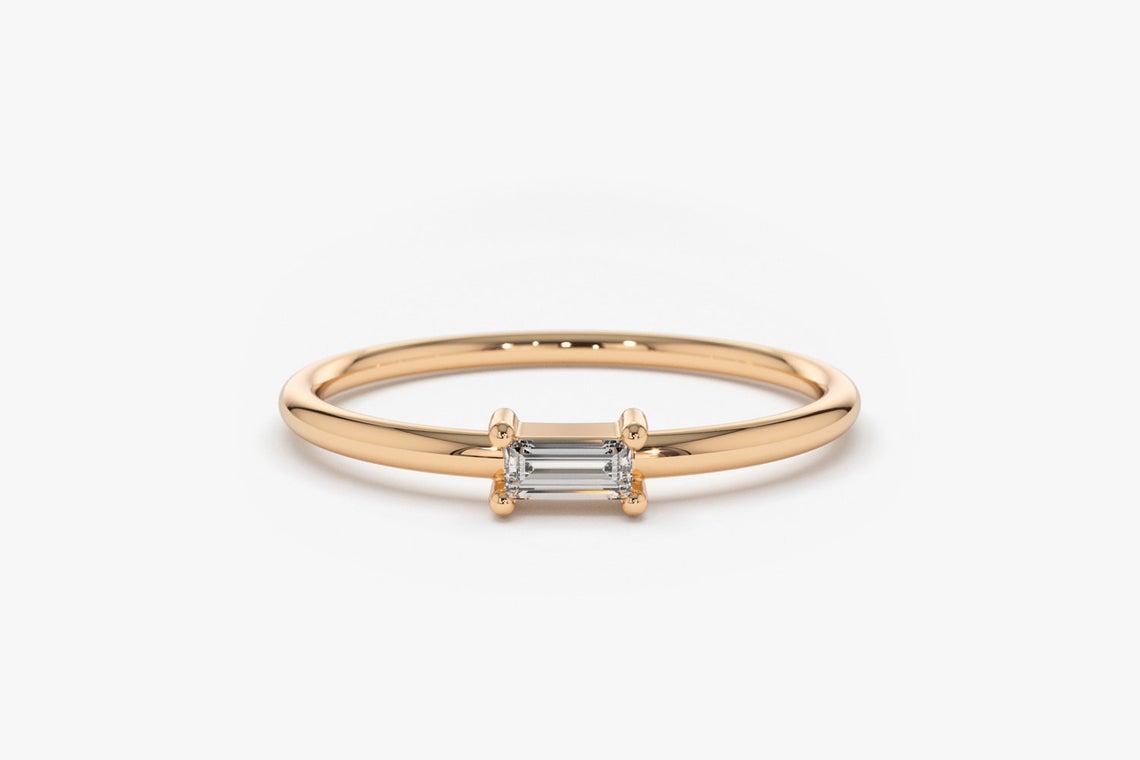 Diamant Ring AMANDA I 585er Gold 0,14 Karat