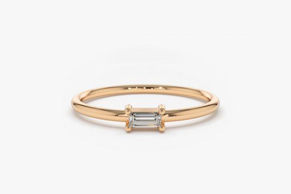 Diamant Ring AMANDA I 585er Roségold 0,14 Karat