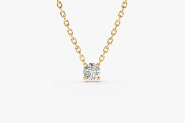 Diamant Kette CAROLIN I 585er Gold 0,07 Karat
