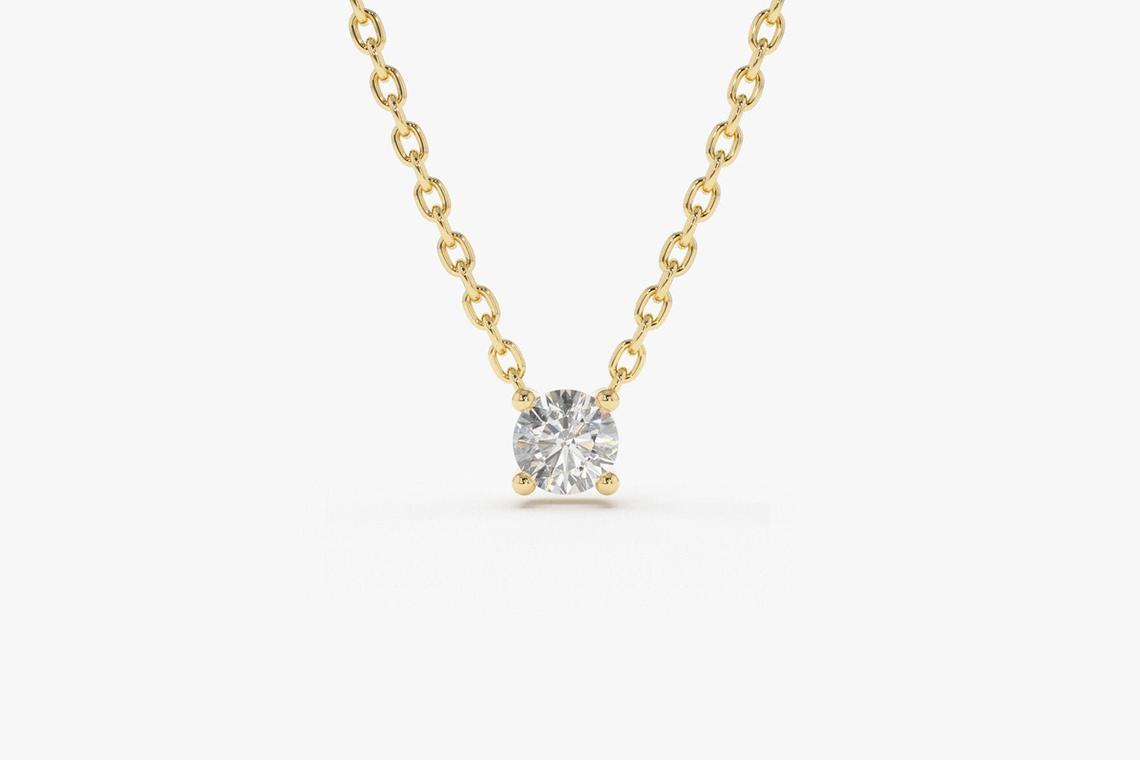 Diamant Kette CAROLIN I 585er Weißgold 0,07 Karat