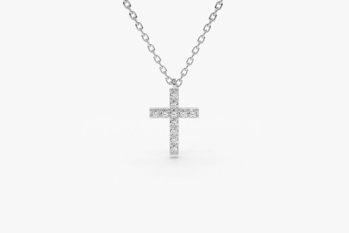 Diamant Kette MARIA I 585er Weißgold 0,11 Karat