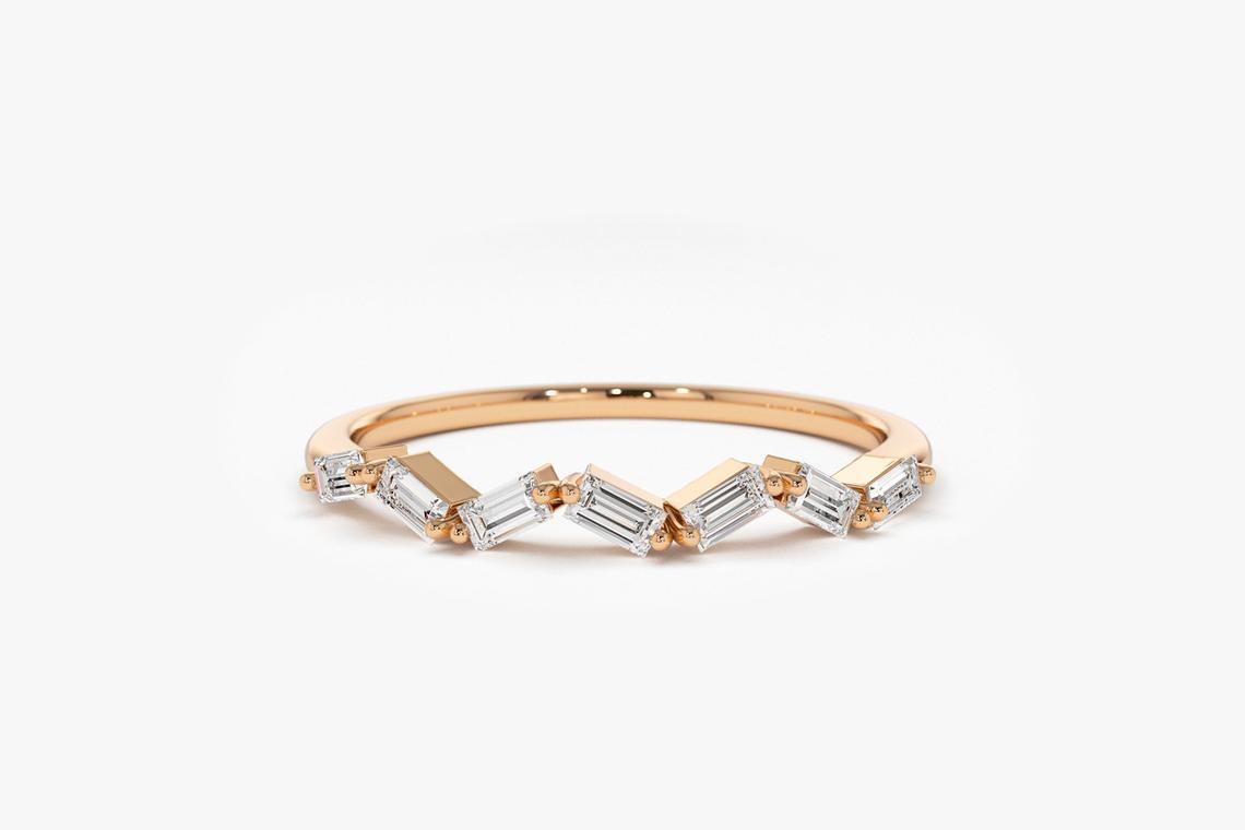 Diamant Ring JESSICA I 585er Roségold 0,23 Karat