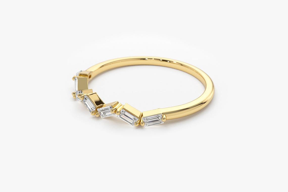 Diamant Ring JESSICA I 585er Weißgold 0,23 Karat