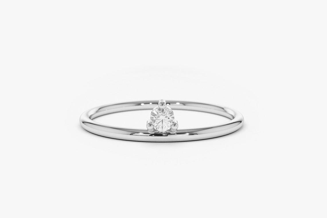 Diamant Ring EMMA I 585er Weißgold ca. 0,05 Carat
