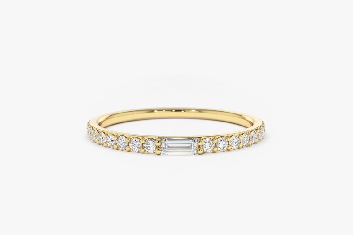 Diamant Ring SUSAN I 585er Weißgold 0,27 Karat