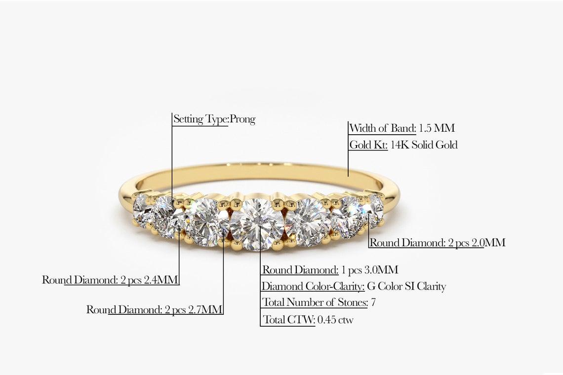 Diamant Ring SOPHIA I 585er Weißgold 0,45 Karat