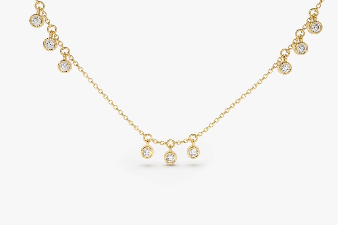Diamant Kette ARIA I 585er Gold