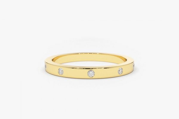 Diamant Ring MICHELLE I 585er Gold 0,12 Karat