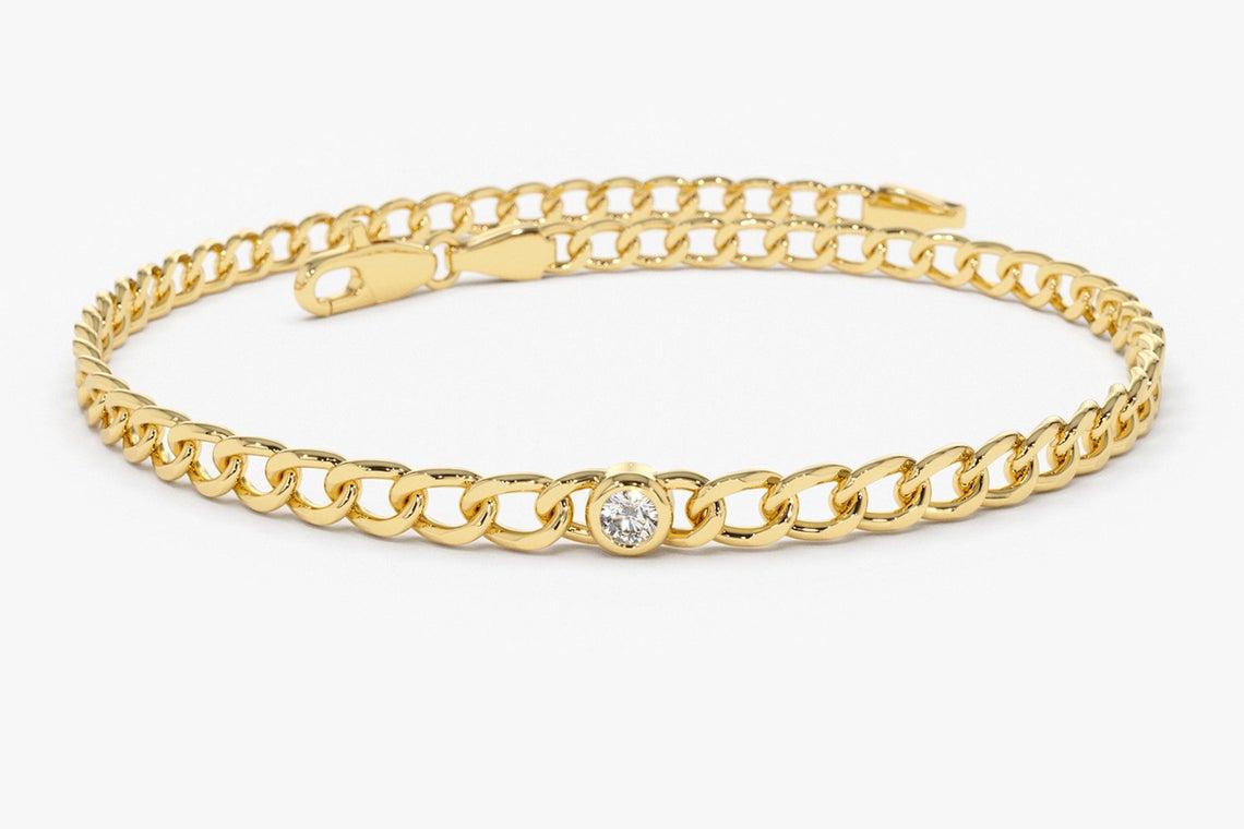 Diamant Armband CATERINA I 585er Gold 0,07 Karat