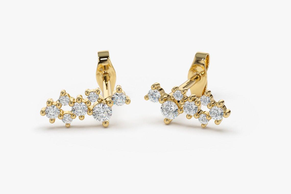 Diamant Ohrstecker EVA I 585er Gold 0,50 Karat