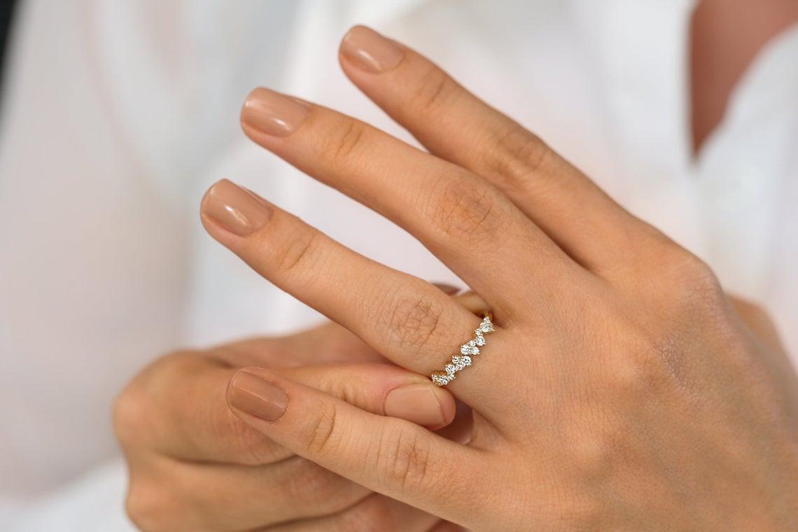 Diamant Ring LARA I 585er Gold 0,39 Karat