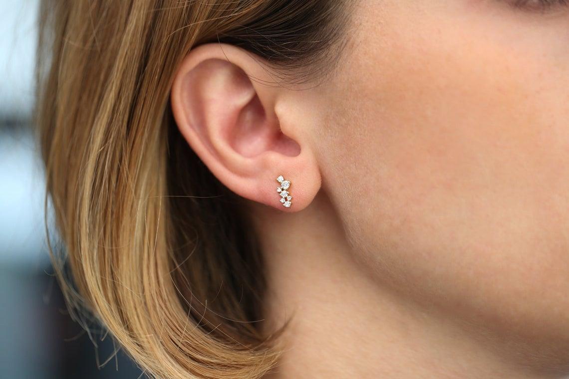 Diamant Ohrstecker EVA I 585er Weißgold 0,50 Karat