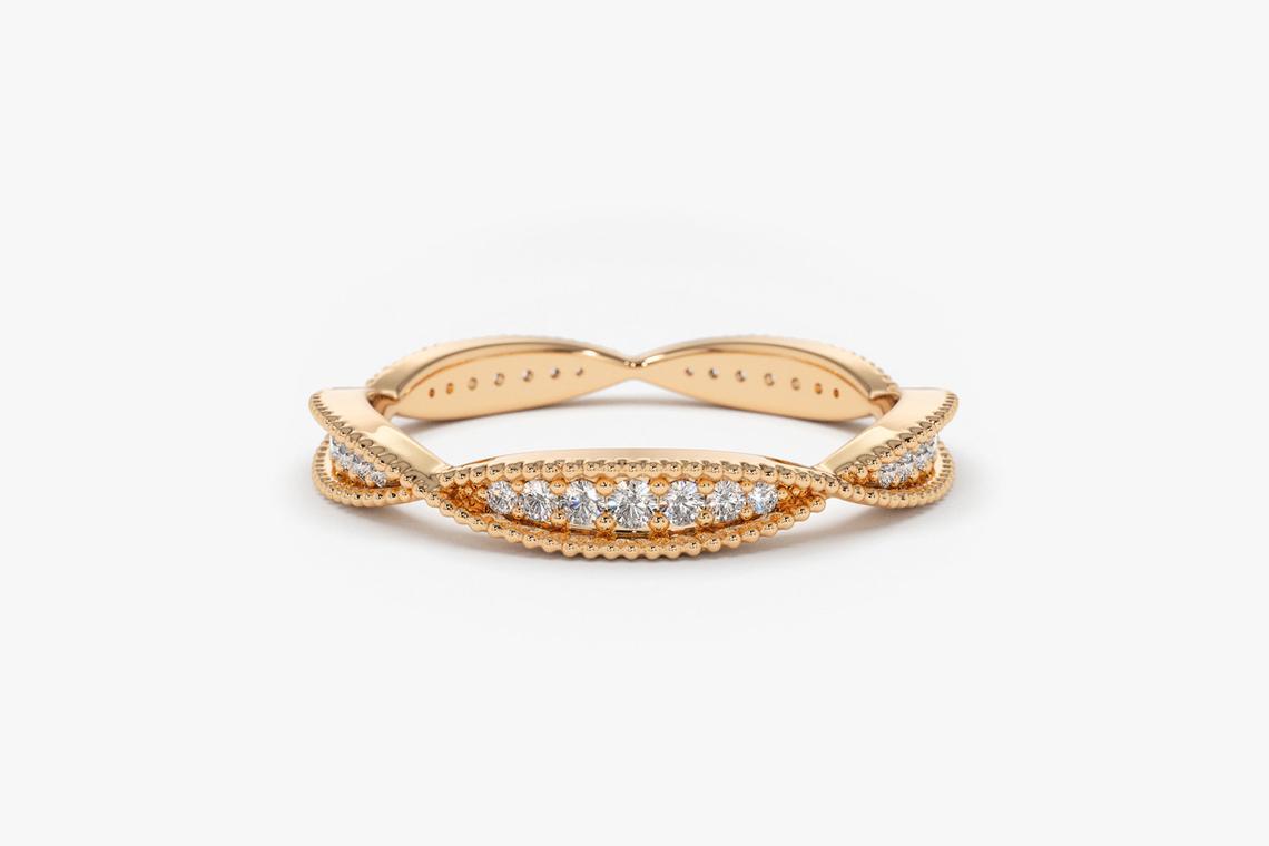 Diamant Ring AMELIE I 585er Weißgold 0,35 Karat