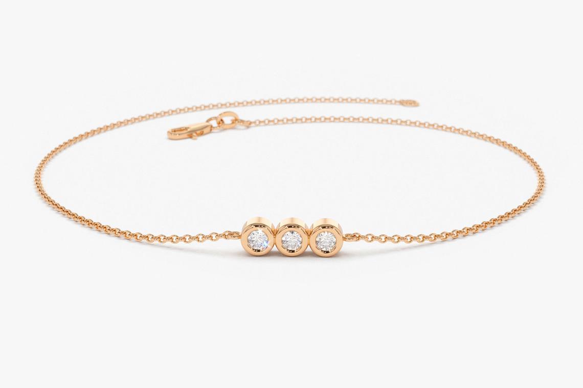Diamant Armband ASIA I 585er Weißgold 0,10 Karat