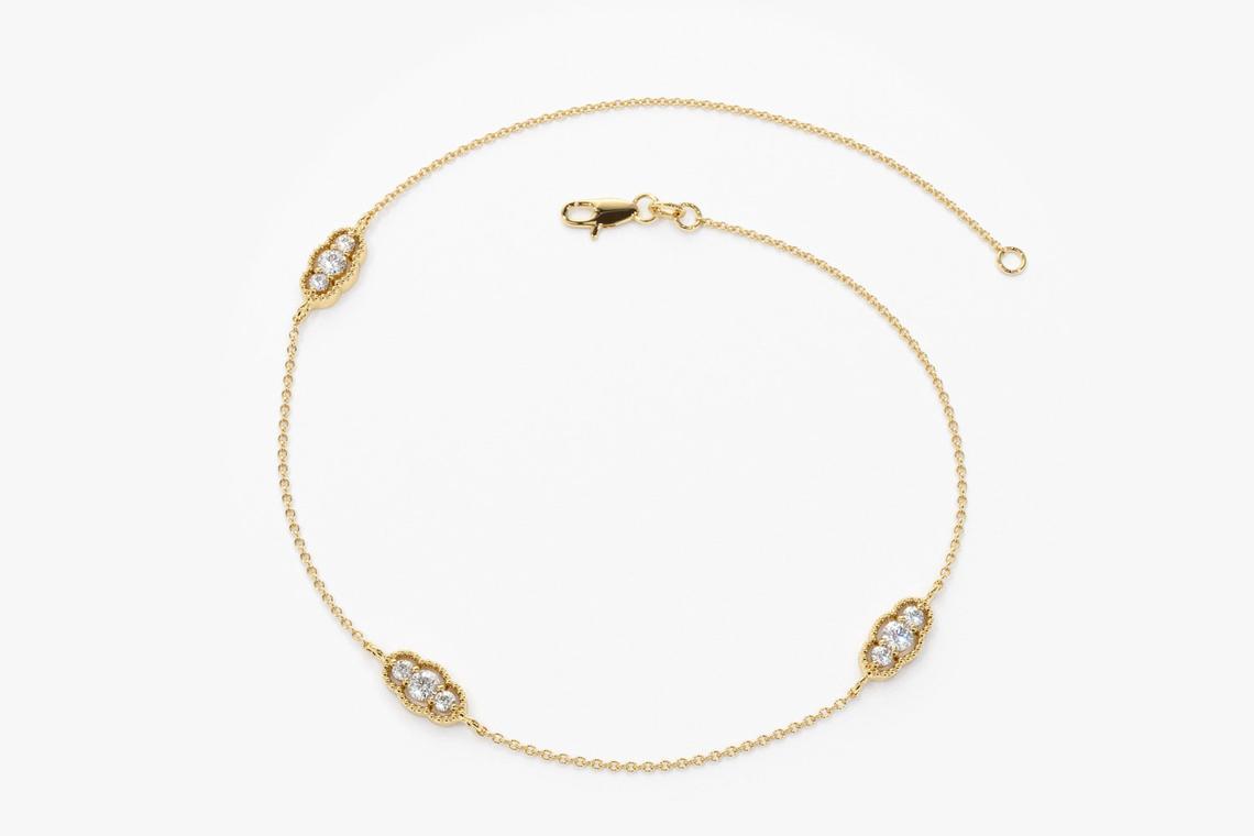"""Diamant Armband ALESSIA I 585er RoseGold 0,31 Karat"""""""
