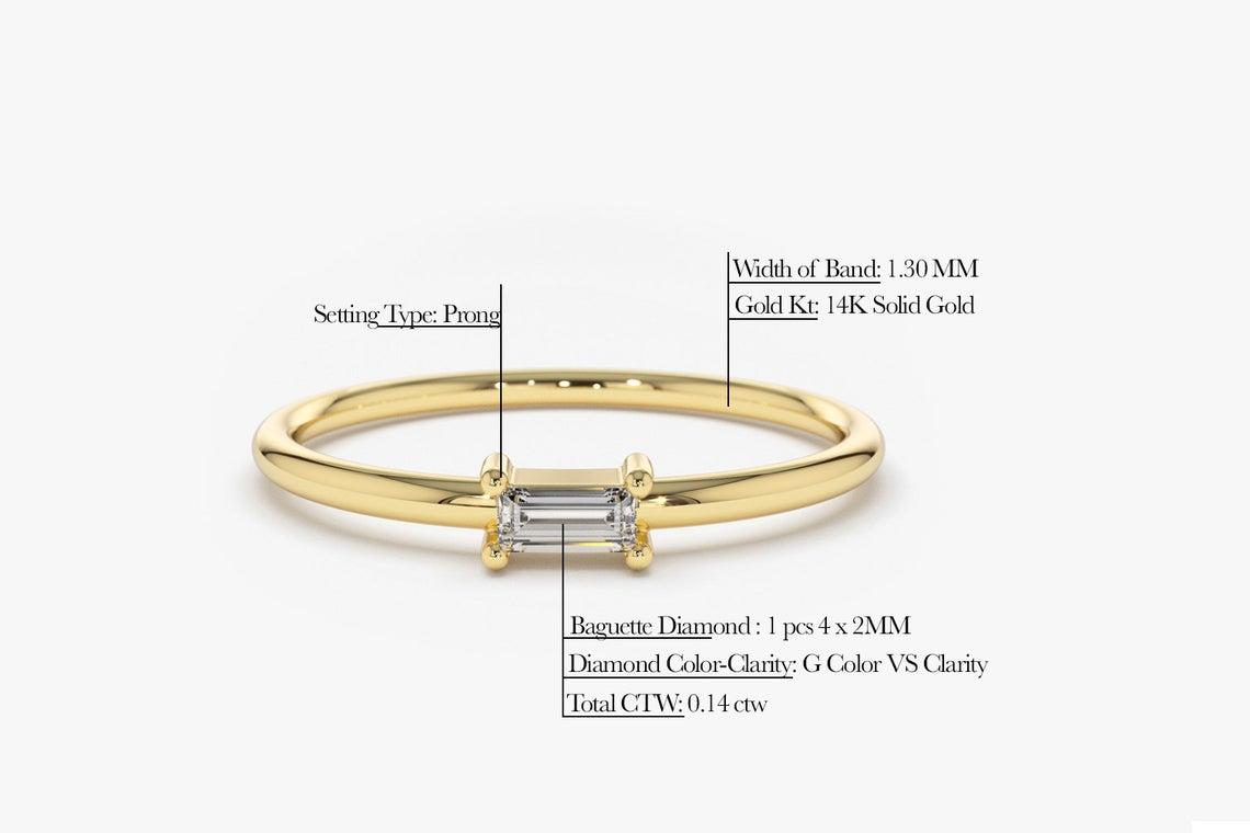 Diamant Ring AMANDA I 585er Weißgold 0,14 Karat