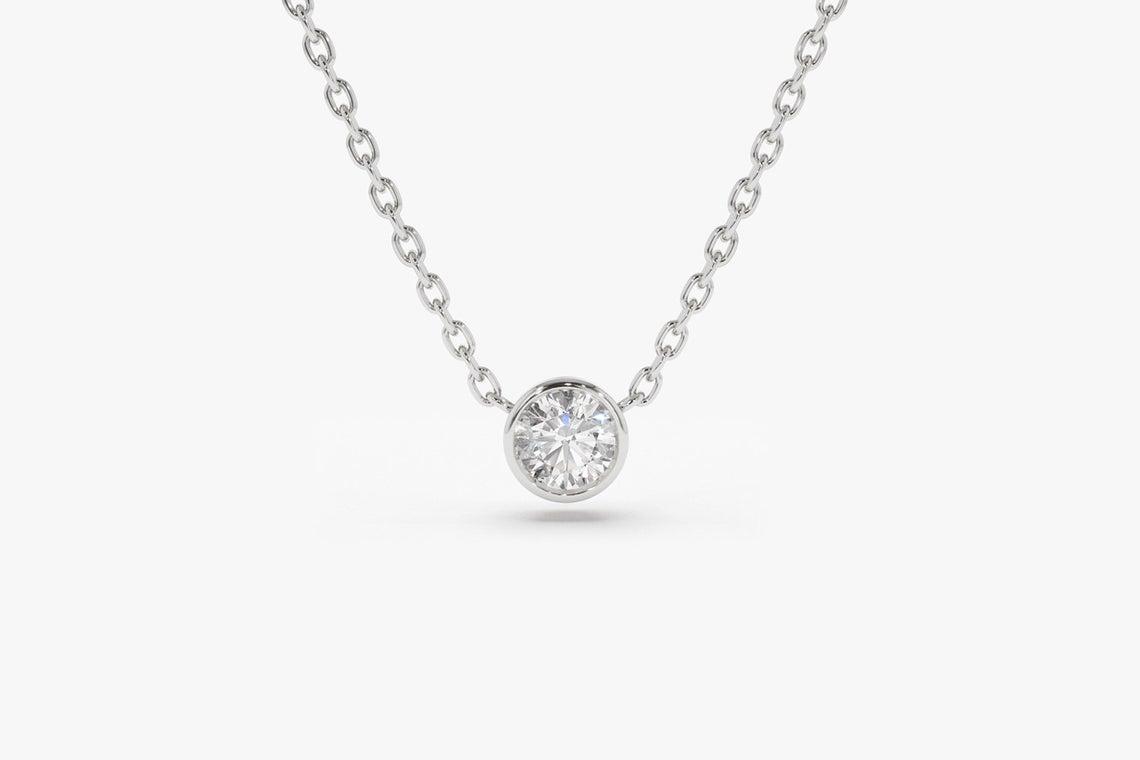 Diamant Kette LYDIA I 585er Gold 0,12 Karat