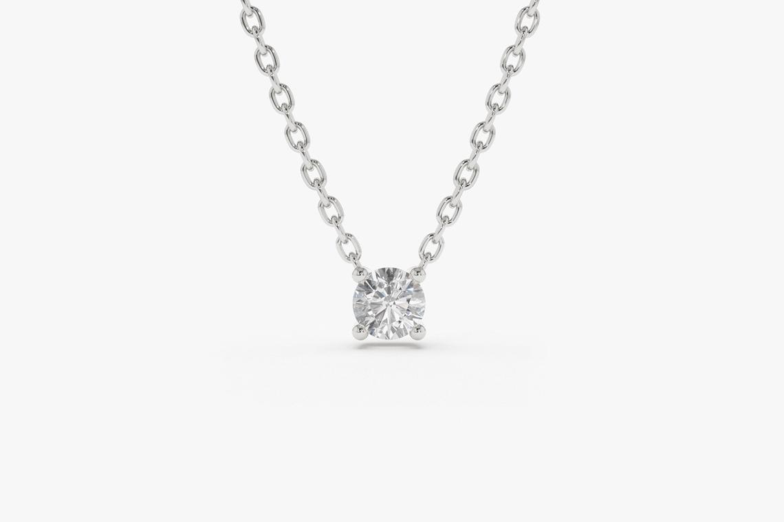 Diamant Kette CAROLIN I 585er Gold 0,12 Karat