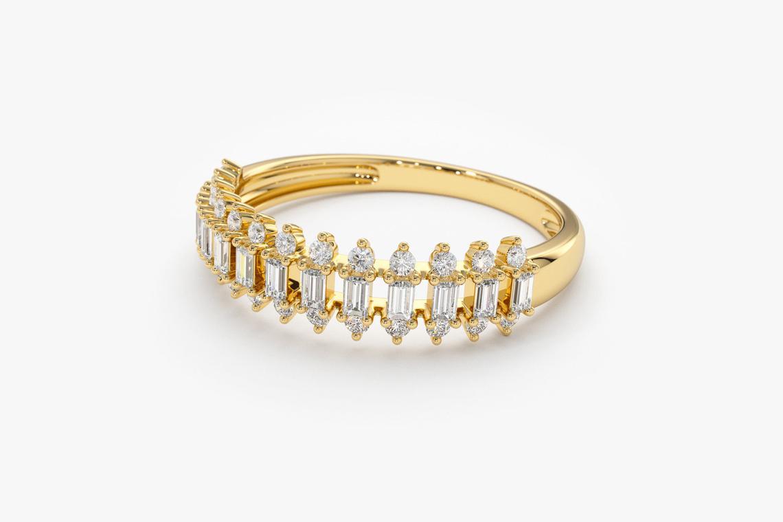 Diamant Ring DONNA I 585er Weißgold 0,56 Karat