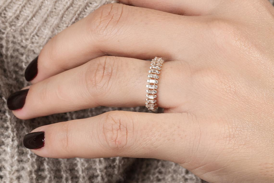 Diamant Ring DONNA I 585er Gold 0,56 Karat