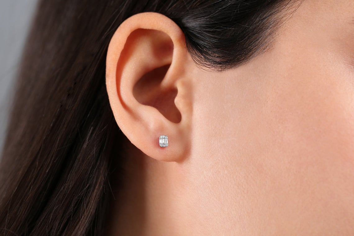 Diamant Ohrstecker ANNIE I 585er Roségold 0,10 Karat