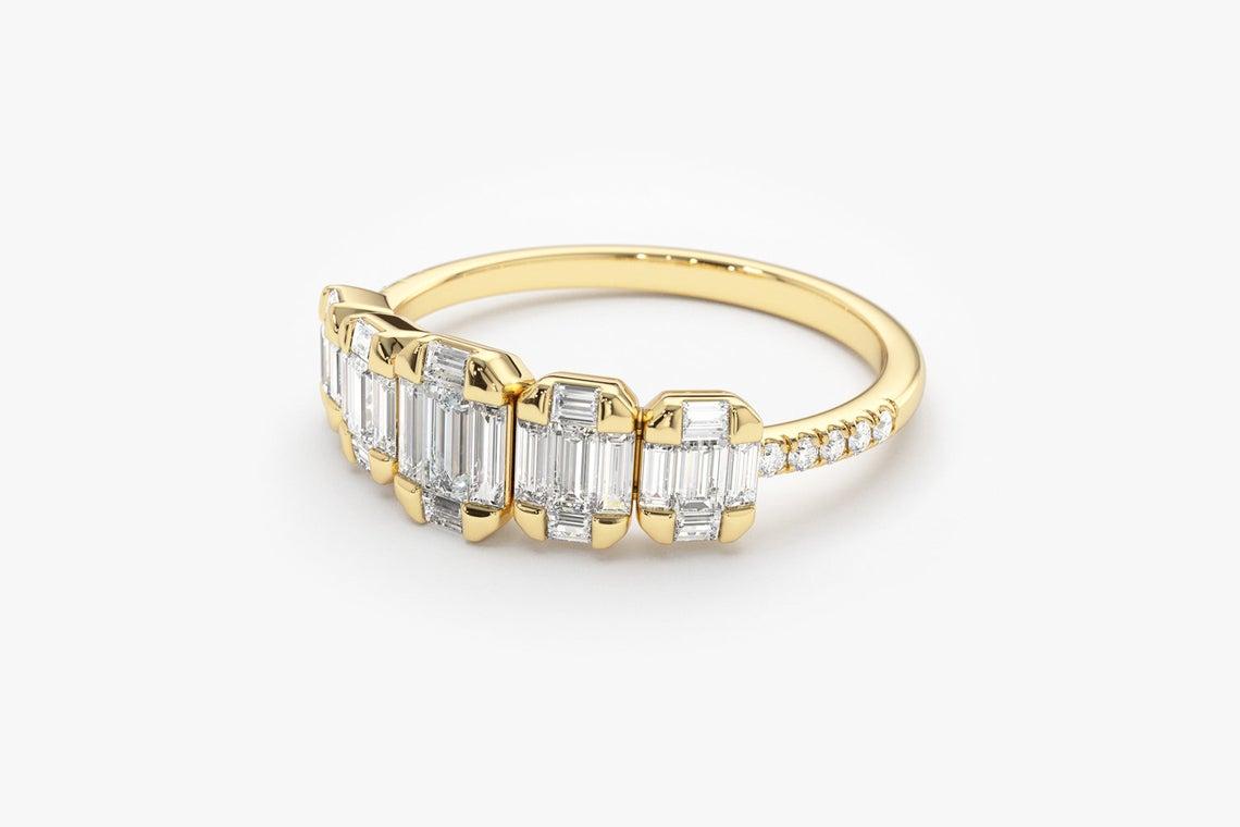 Diamant Ring SARA I 585er Gold 0,71 Karat