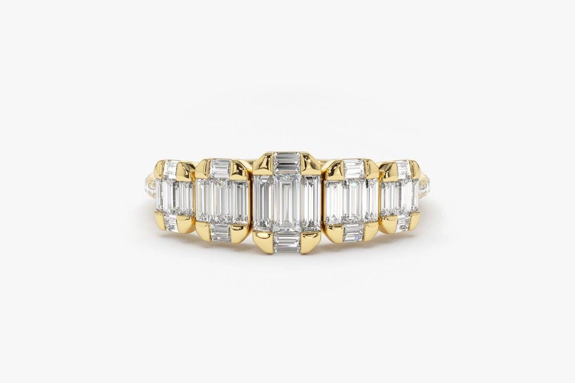 Diamant Ring SARA I 585er Weißgold 0,71 Karat