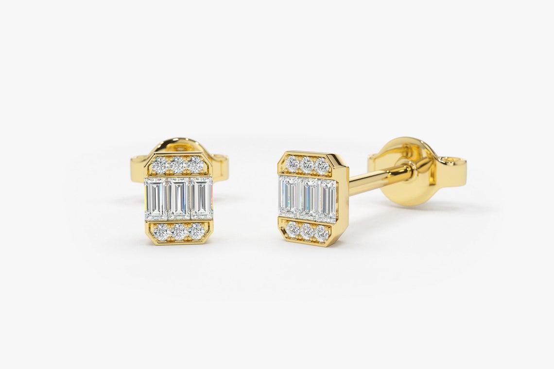 Diamant Ohrstecker ANNIE I 585er Gold 0,10 Karat