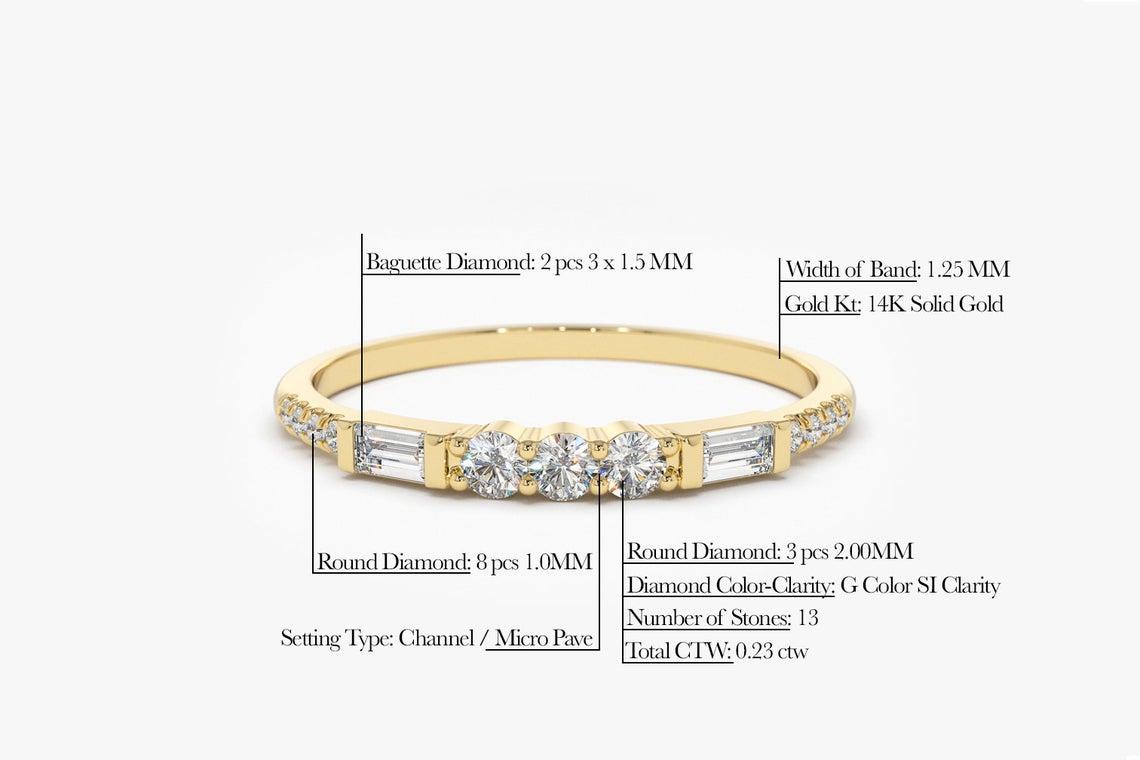 Diamant Ring MELISSA I 585er Roségold 0,25 Karat