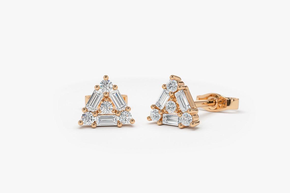 Diamant Ohrstecker MONICA I 585er Weißgold 0,45 Karat