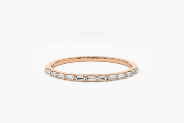 Diamant Ring LORI I 585er Roségold 0,15 Karat
