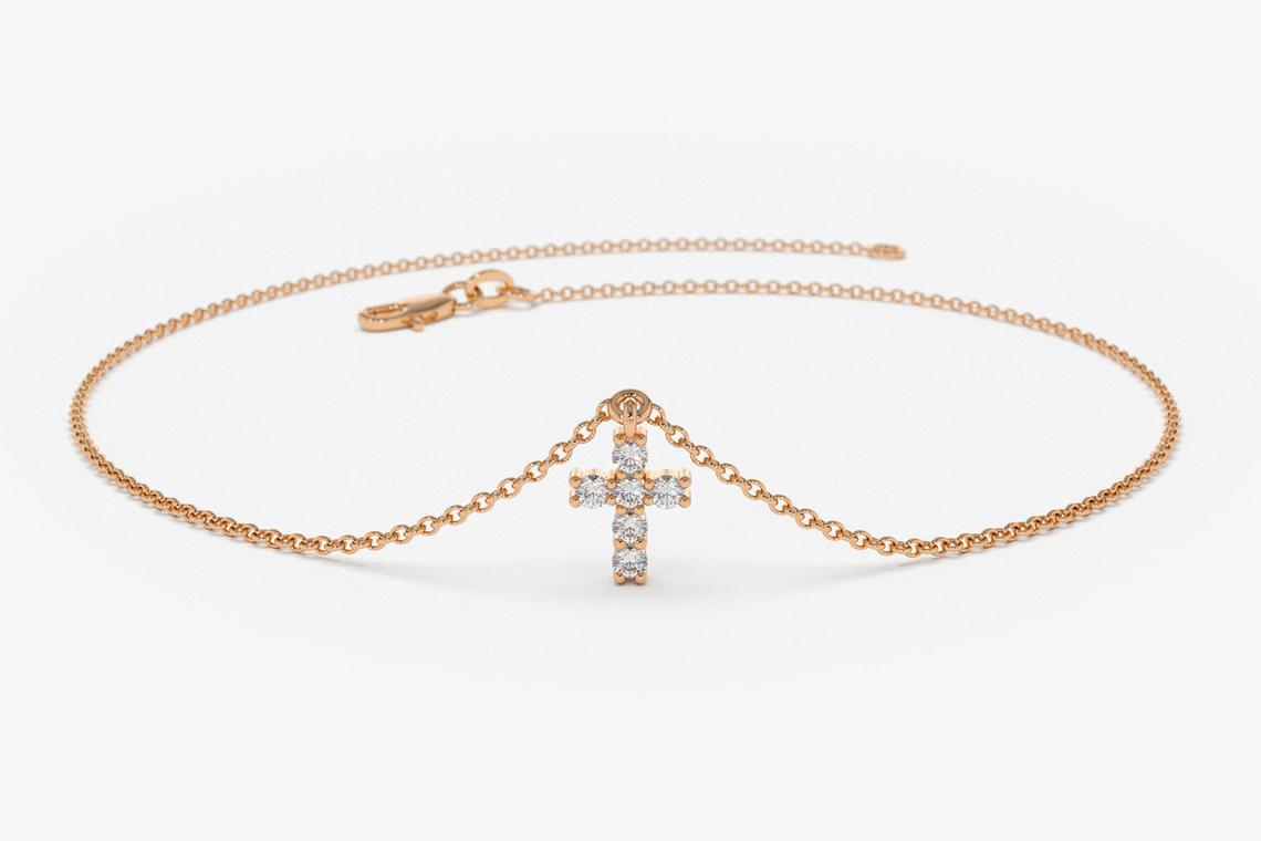Diamant Armband BRIA I 585er RoseGold 0,07 Karat