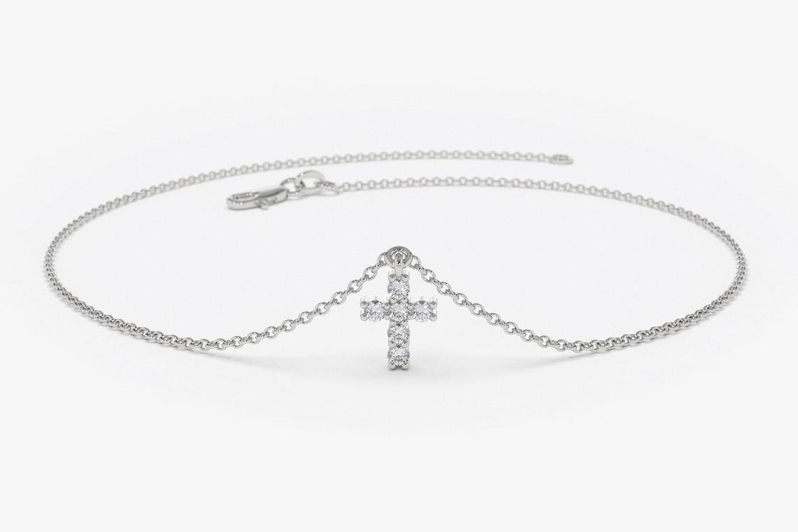 Diamant Armband BRIA I 585er Weißgold 0,07 Karat