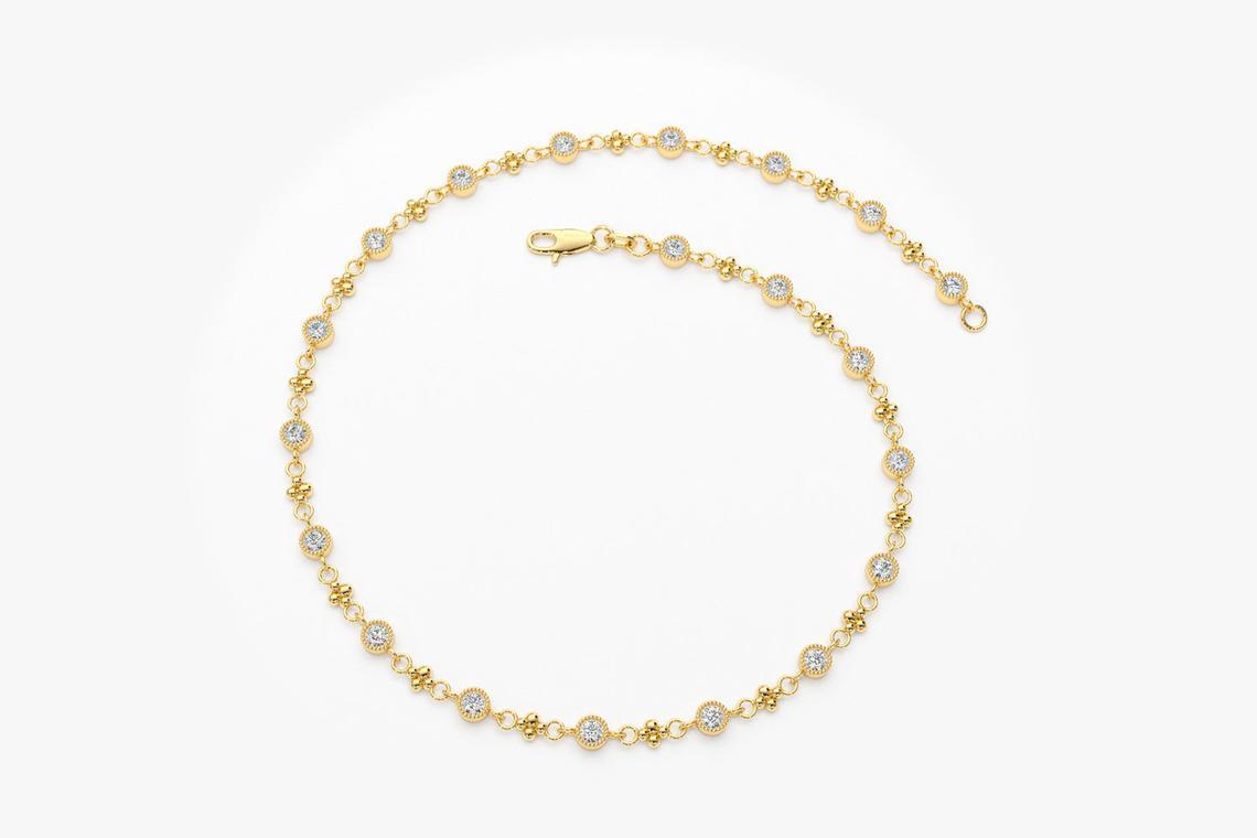 Diamant Armband SARA I 585er Gold 0,45 Karat
